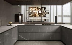 modelo cozinha em U