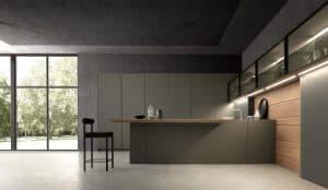 modelo cozinha com peninsula